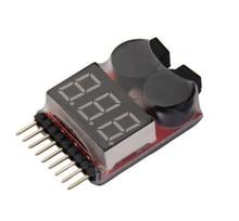 1-8 s low voltage buzzer di allarme lipo/li-ion/fe tensione della batteria 2in1 tester originale vistapower quadcopter bb anello