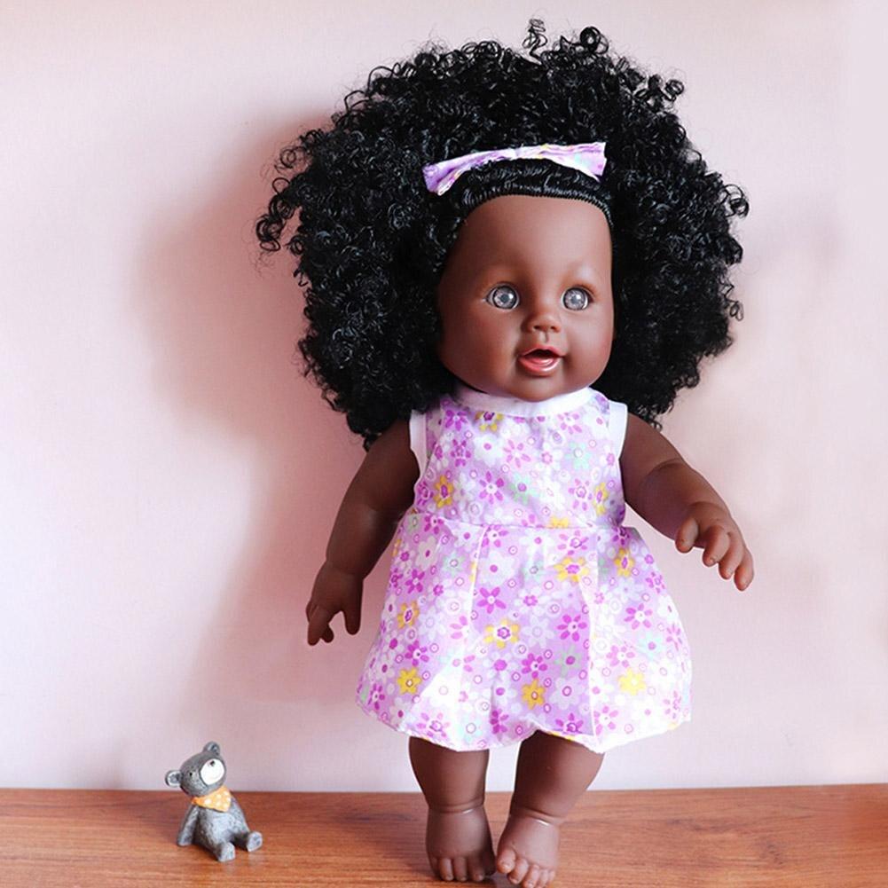 30 cm hauteur de Simulation Baby Doll Enfants Jouets Boneca Realista Nouveau-Né Adopter Silicone Bebes Reborn Filles Poupée