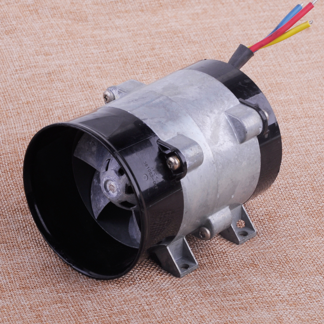 CITALL Car Auto High Speed Electric Turbine Power Turbo Charger Tan Boost Air Intake Fan