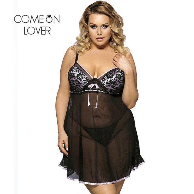 Comeonlover Sexy Lingerie Nightwear Underwear Fantasia Sexy Dress Erotic Babydoll Lingerie Sexy Plus Size Porno Lingerie RI7922 4