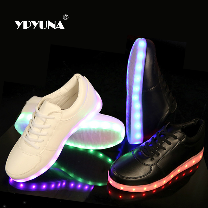 Led Glowing Luminous Sneakers USB Charging Kids Light Up Children Shoes With Casual Boys&Girls Shoe enfant