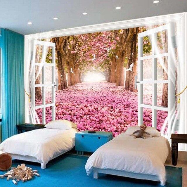 Benutzerdefinierte wandbild 3D hochzeit wohnzimmer schlafzimmer ...