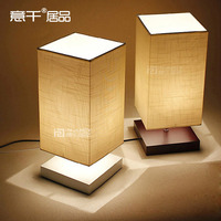 Simple Nordic Style Cloth & Wood Desk Lamp Living Room Study Bedroom Table Reading Lamp Bedside