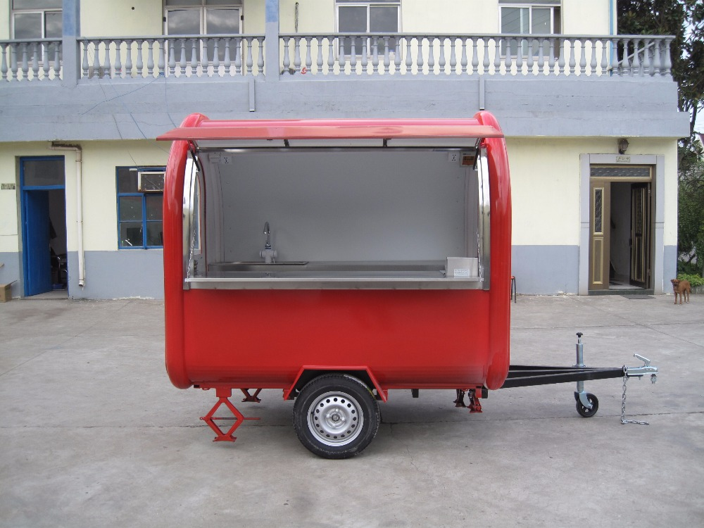 Mobile Food Trailer retail cart China Factory Mobile Food ...