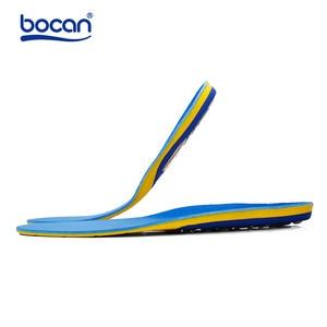 Image 2 - Bocan memory foam einlegesohlen gel schuh einlegesohlen Dämpfung gel einlegesohle arch unterstützung für männer/frauen