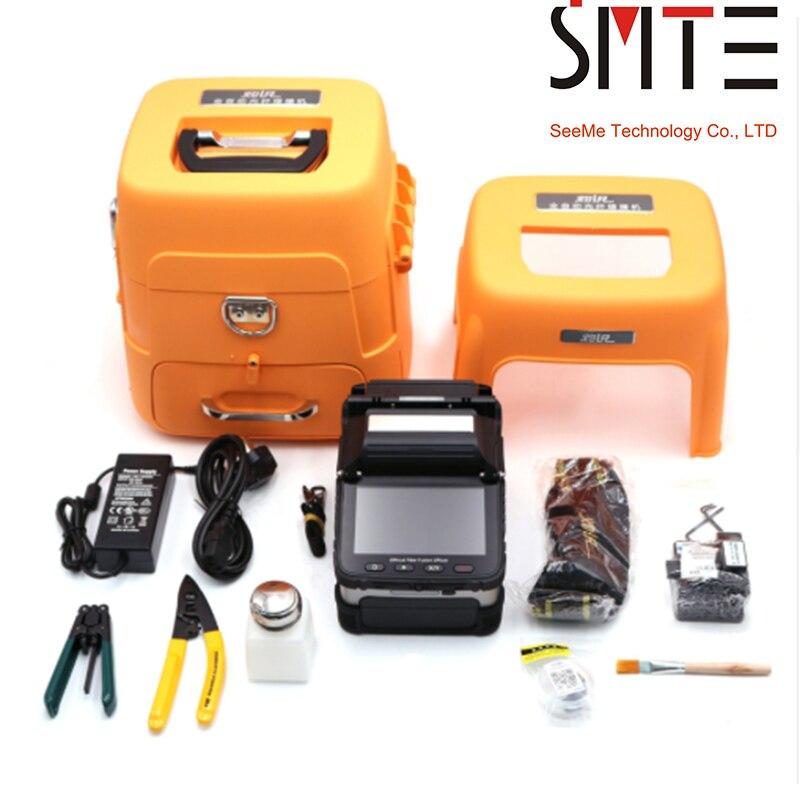 Signalfire SM MM Automatique FTTH De Soudage Épissage Machine fusion de fibre optique Colleuse AI-7