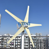 Best Choice! 400W 24v wind turbine wind fans for wind solar hybrid system
