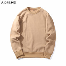 AIOPESON New Fashion Hoodies Winter Autumn Men Sweatshirts Male Solid Casual Pullover Tracksuit Men Sweatshirt Europe Size S-XXL