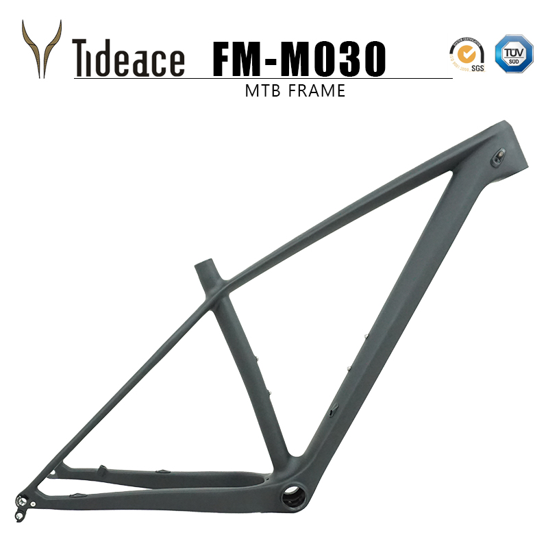 2019 Chinese Mtb Frame 29er 142mm/148mm Boost Thru Axle Mountain Bike Frame 29 Bicycle Frame Carbon Max 2.35 Tires Bicycle Parts