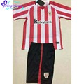 2017 Camisetas Athletic Club De Bilbao 2 Colores Athletic de Bilbao Camisa de Manga Corta Camiseta de fútbol 16 17 Niños Athletic de Bilbao Kit