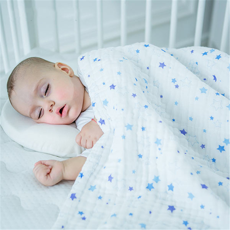BC-TK002 Bath Shower Baby Towel Swaddle Blankets Soft Cotton Stoller Cover Conve