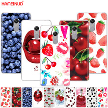 HAMEINUO Фрукты Вишня Клубника Дизайн чехол для телефона для Xiaomi redmi 5 4 1 1s 2 3 3s pro PLUS redmi note 4 4X 4A 5A