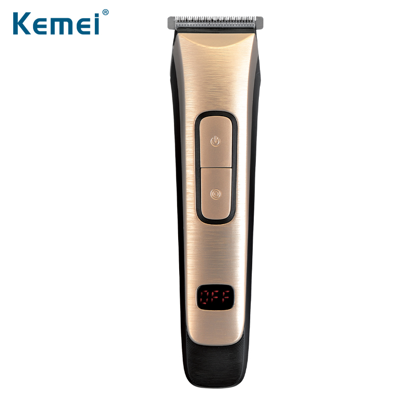 Kemei KM-236 Professional Electric Hair Clipper Cordless Rechargeable Hair Beard Trimmer Hair Cutting Machine With 4 Comb baber цена