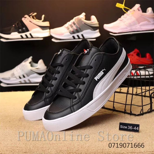 super popular 7348c 1a316 US $50.11 5% OFF|Puma Shoes Laughing Shoes SMASH V2 VULC CV Men's and  Women's Shoes-in Badminton Shoes from Sports & Entertainment on  Aliexpress.com | ...