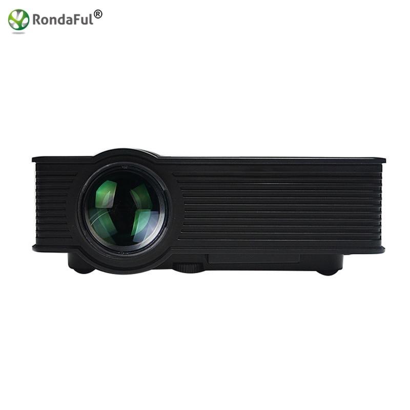ФОТО GP9 Mini Portable Projector Full HD 1080P Video HDMI Home Theater Beamer Multimedia Projectors Support Read U Disk