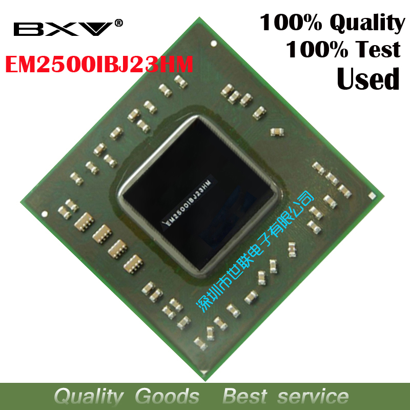 EM2500IBJ23HM 100% test work very well reball with balls BGA chipset quality assurance free shipping
