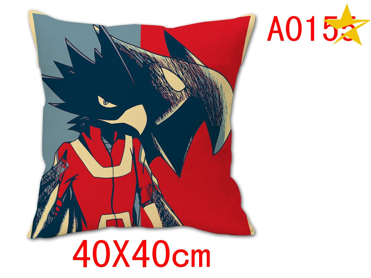 Giancomics 40*40CM My Hero Academia Anime Cartoon Character Pillow Cushion Home Cover Pillow Case Slip Tick Ornament Gifts