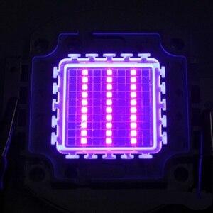 Image 5 - מתח גבוה Led שבב 100 W סגול אולטרה סגול (UV 395 ~ 400nm) SMD COB אור 100 W אולטרה ויולט הנורה מנורה