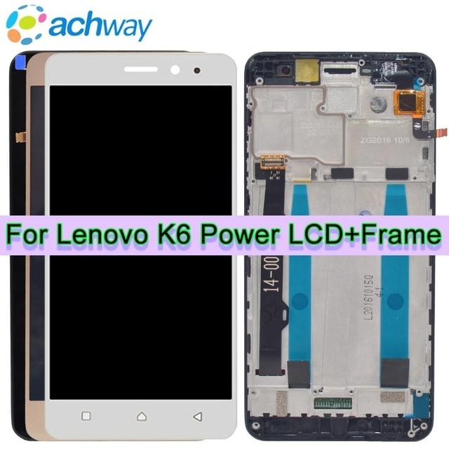 5 0 inch for lenovo k6 power display sensor touch screen