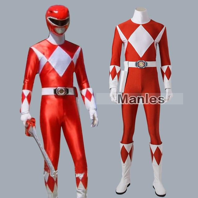 Costume For Tyranno Ranger Geki Zyuranger Cosplay Costume Jumpsuit Cosplay  Onesies Halloween Spandex Outfit Adult Men Full Set ef280f83f