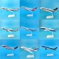 20 см 1:300 масштаб Airbus Boeing авиалиний самолет модель из сплава игрушка коллективные детские игрушки F коллекции