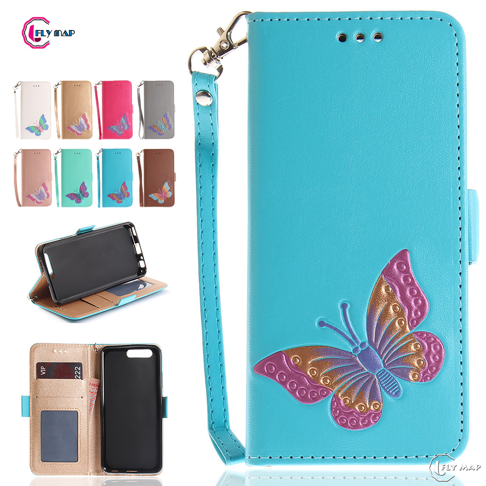 Бабочки флип чехол для huawei P10 VTR-L29 VTR-L09 Бумажник слот для карт памяти случае телефон кожаный чехол для huawei P 10 VTR L29 l09 Капа ...