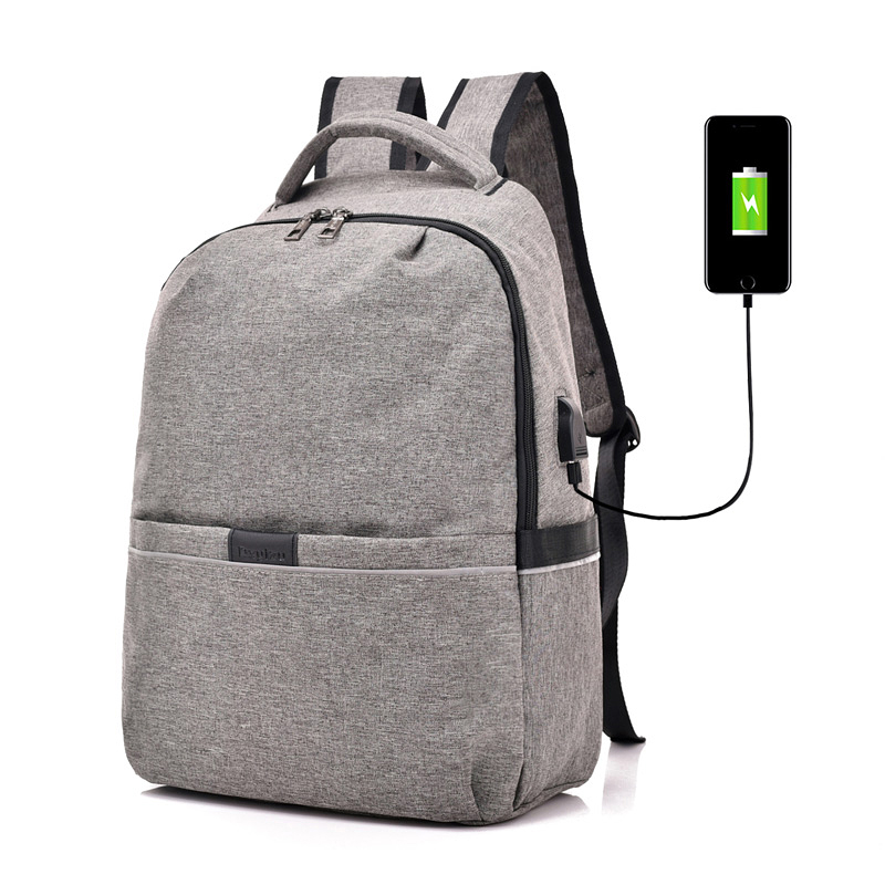 Для мужчин рюкзак для ноутбука зарядка через usb компьютер рюкзаки мужской серый рюкзак рюкзаки Для женщин Mochila школьная сумка для Для мужчин...