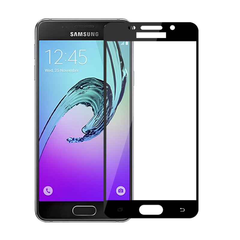9H Full Cover Tempered Glass For <font><b>Samsung</b></font> <font><b>Galaxy</b></font> <font><b>A3</b></font> <font><b>2016</b></font> <font><b>A310F</b></font> Screen Protector Protective Film For SamsungA3 <font><b>2016</b></font> Protect Film image