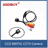 High Definition SONY CCD 800TVL CCTV Camera Audio Video Analog Security Camera Mini Screw Type