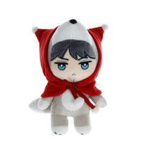 KPOP EXO 25cm/10 Sehun MCF HUHU Handmade Plush Toy Soft Touch Stuffed Doll Fans Gift Collection