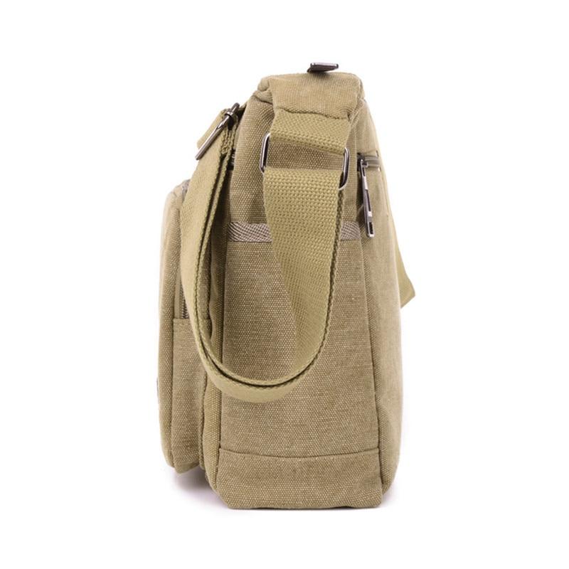2016 jofeanay mannen Messenger Bags Canvas Schouder Hand Tas Mode Mannen Business Crossbody Tas Afdrukken Korte Reizen Handtas - 3