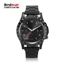 T2/S2/A8 Smartwatch Für Android Phone Kamera Mp3-player Herzfrequenz Monitor Fernbedienung Kamera Metall Uhr Band Smart Watch Ips-bildschirm