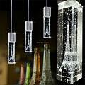 3 pçs/lote Cozinha luzes pingente Lâmpadas de iluminação de Moda pingente de Cristal lustre De cristal para sala de jantar Levou Pingente Lâmpada