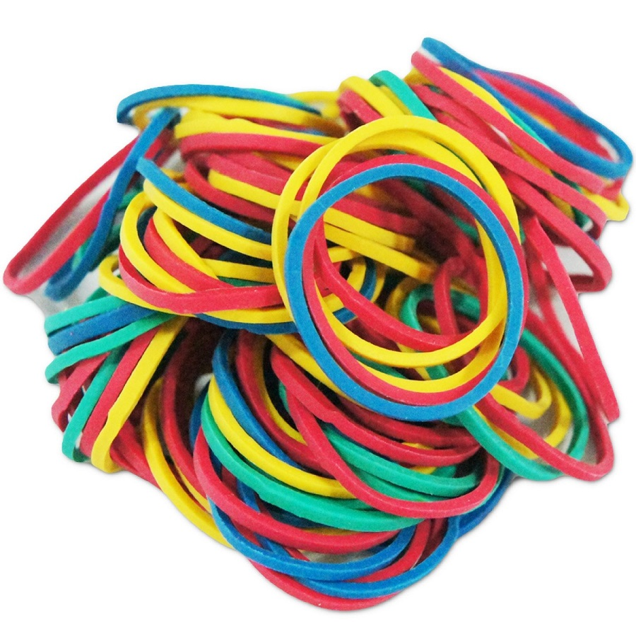 100pcs/box Mixed Color Rubber Bands Tattoo Accessories For Tattoo Gun Machine Wholesale