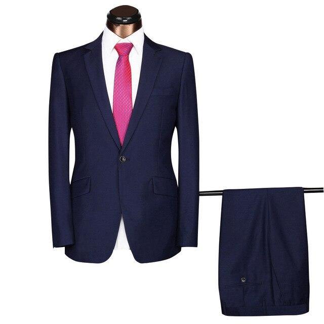 JinXuanYa Для Мужчин's Бизнес Повседневное из двух частей костюм Свадебные Жених Бизнес Для мужчин костюмы, размер M-4XL