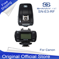 FREE SHIPPING Trigger SHANNY SN-E3-RF 2.4G wireless radio transceiver for SN600C-RF flash,TTL trigger,LCD panel for Canon