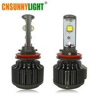 CNSUNNYLIGHT High Power Car Canbus Fog Lights H11 H8 LED 16000LM HB3 HB4 9005 9006 880 No Error Led Headlight 6000K White 12V