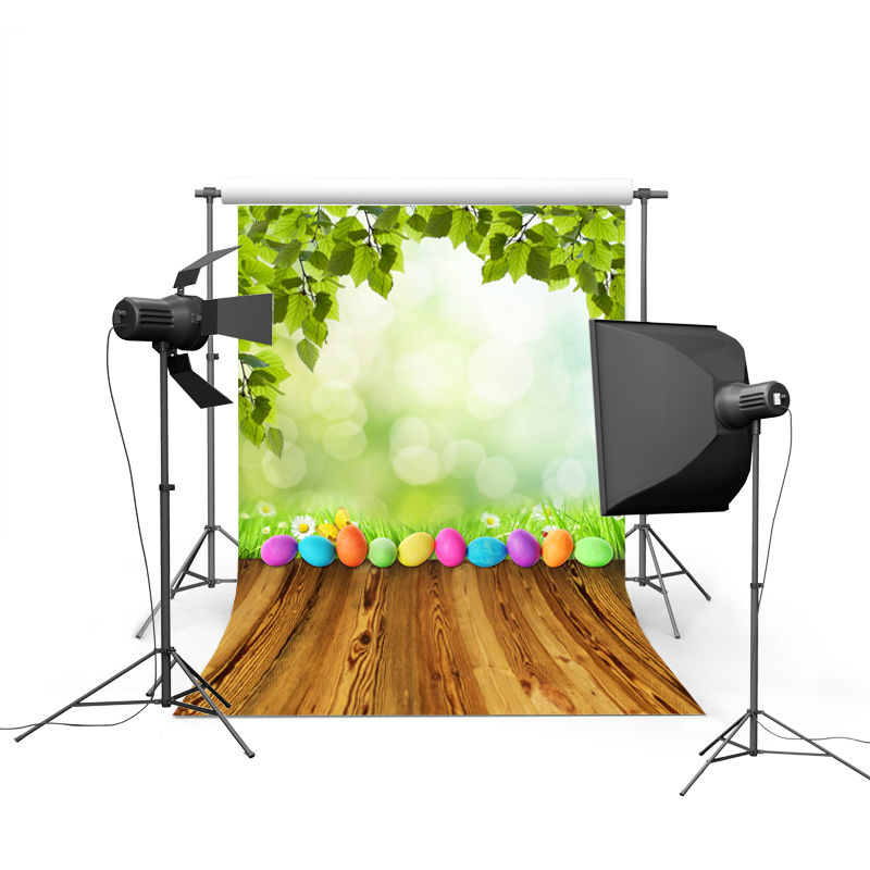 NeoBack spring easter photography backdrops eggs chiken new born baby children photographic background Easter Day P0339