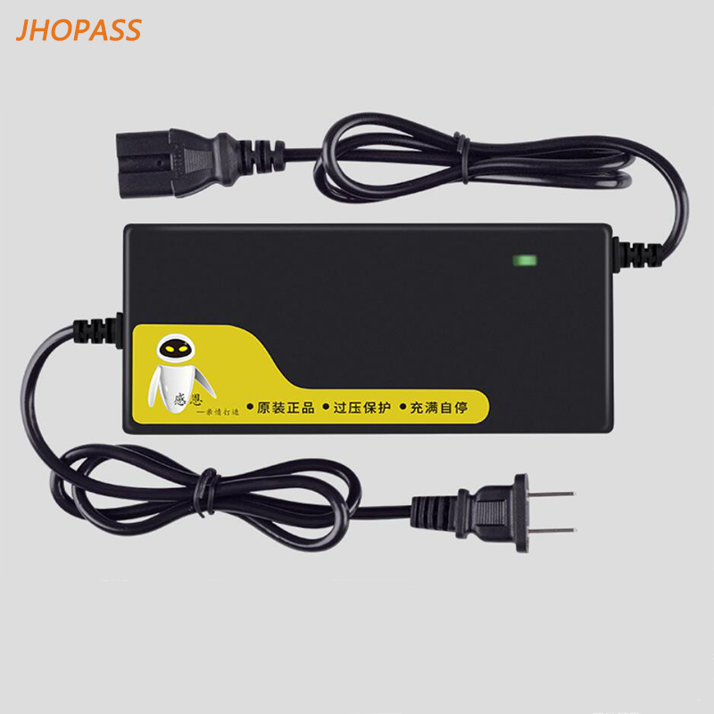 Output 58 8V 5A 14S lithium battery charger LED display  for E-bike Balance car  scooter 48V 5A lithium battery charger