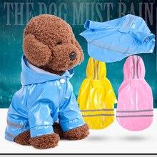 1pc outdoor puppy pet rain coat sweatshirt waterproof jacket