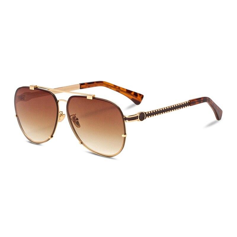 Vazrobe marque lunettes de soleil hommes femmes Vintage lunettes de soleil pour homme gris brun luxe Design nuances UV400 2019 mode nouveau Style