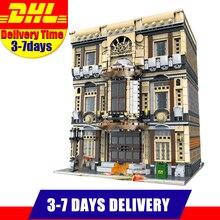 EN Stock 01005 5052 UNIDS MOC Ciudad XingBao Serie El Museo Marítimo Establecido Niños Building Blocks Ladrillos Modelo Juguetes Regalos