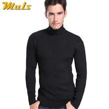 Woolen sweater designs for men thermal underwear Men winter turtle neck cashmere sweater sleeve xxxl mens fashion pullover 8868