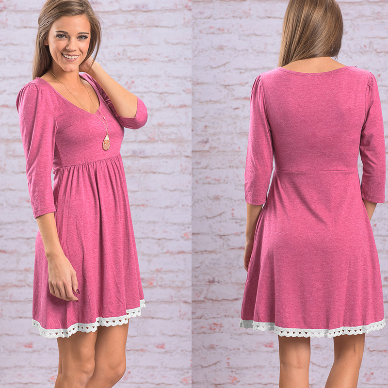 7d91c2e24079 HOLMAI Spring Empire Waist Short Fringe Dress for Women Pink Blue Casual  Occasion Slim Pleated Sheer Dresses Plus Size Clothing-in Dresses from  Women's ...