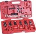 9PCS Auto Flexible Draht Schlauch Clamp Zangen Entfernung Werkzeug Für VW Ford Mercedes Toyota Ford Auto Reparatur Garage Werkzeuge ST0029