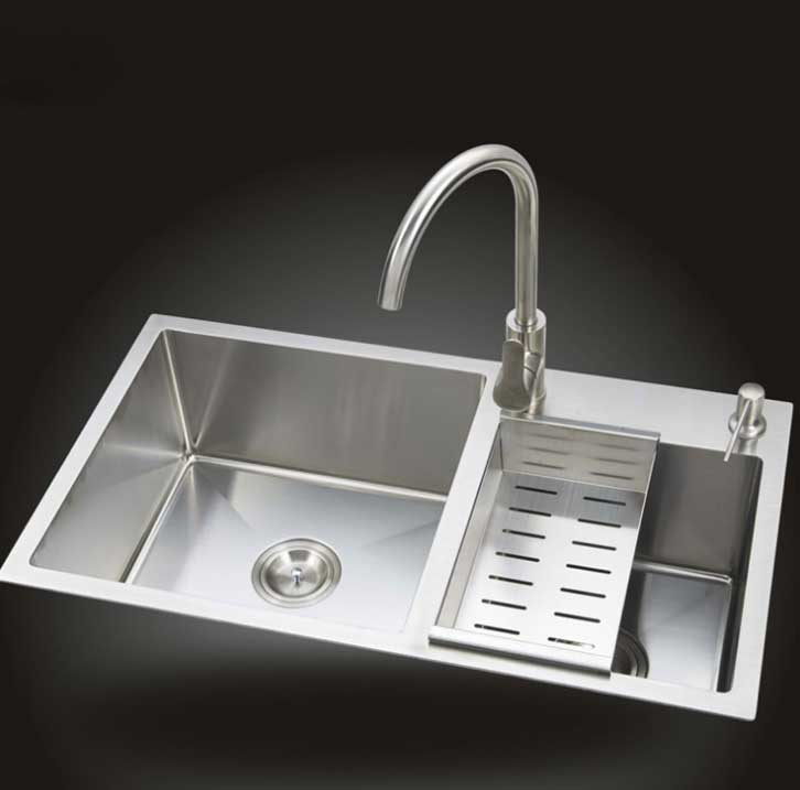 Aliexpress Itas9914 Kitchen Sinks Stainless Steel Double Bowl Above Counter Undermount Wash Basin Hand Sink Size 78 42cm From Reliable