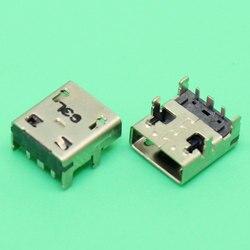 ChengHaoRan gniazdo zasilania DC złącze portu zamiennik Micro gniazdo ładowania USB dla Asus EEEBook X205 X205T X205TA E205SA E200HA w Złącza od Lampy i oświetlenie na