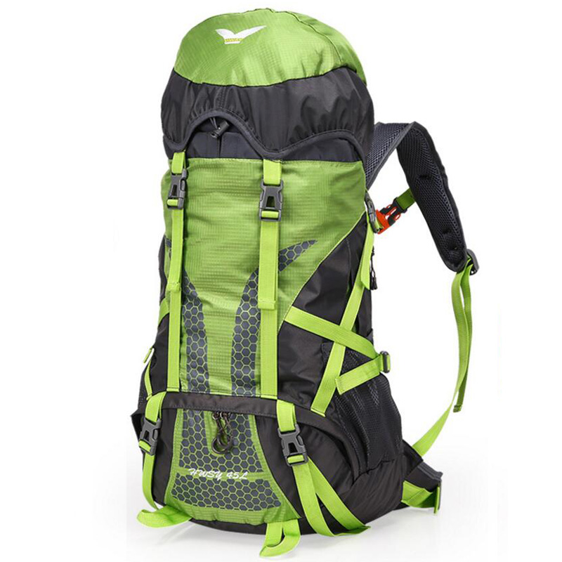 45L Outdoor Sports Backpack Waterproof Rucksack Light Weight Travel Bags Trekking Backpack Men Women Camping Hiking Bag