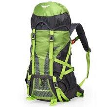Купить с кэшбэком 45L Outdoor Sports Backpack Waterproof Rucksack Light Weight Travel Bags Trekking Backpack Men Women Camping Hiking Bag