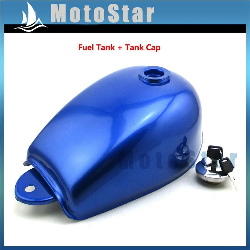Blue Gas Fuel Tank With Lock Cap For Z50 Z50a Z50j Z50r